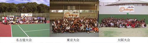 エレッセカレッジ テニストーナメント2007 -大会結果- 1