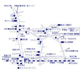 第16回 NEC全日本選抜車いすテニス選手権大会地図